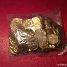 Euros: BOLSA CON 100 MONEDAS DE 10 CENTS ESPAÑA 2004. Lote 78951865