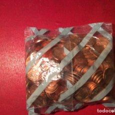 Euros: BOLSA DE 200 MONEDAS DE 2 CENTS . ESPAÑA AÑO 2000. Lote 78952057