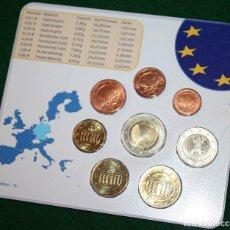 Euros: SET EUROS 2002 ALEMANIA CECA MÚNICH EURO-MÜNZEN D. Lote 78963581