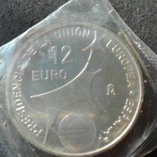 Euros: ESPAÑA PLATA 12 € PRESIDENCIA UNIÓN EUROPEA. S/C. Lote 212432920