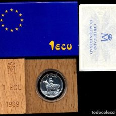 Euros: 1 ECU 1989 RAPTO DE EUROPA FDC. Lote 80847279