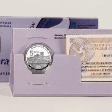 Euros: ESPAÑA 5 EURO PLATA 2012 PROOF ZAMORA SERIE CIUDADES ESPAÑOLAS. Lote 235974305