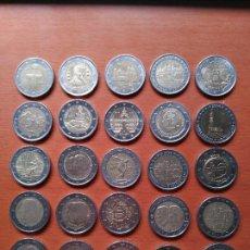 Euros: LOTE 25 MONEDAS CONMEMORATIVAS DE 2€ - DIFERENTES PAISES Y AÑOS - VER FOTOS. Lote 86054612