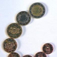 Euros: JUEGO DE EUROS DE LETONIA DE 2014. Lote 253079860