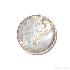 Euros: 5 EUROS PLATA - CONMEMORATIVOS - 400 JAAR-NEDERLAND-MANHATTAN-NEW YORK 2009. Lote 87156136