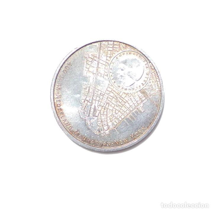 Euros: 5 EUROS PLATA - CONMEMORATIVOS - 400 JAAR-NEDERLAND-MANHATTAN-NEW YORK 2009 - Foto 2 - 87156136