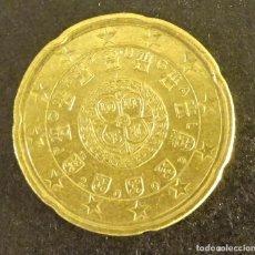 Euros: PORTUGAL 20 CÉNTIMOS DE EURO 2009. Lote 87574192