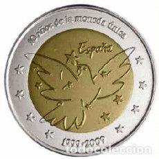 Euros: MONEDA DE 2 EUROS ESPAÑA 2009 PALOMA DE LA PAZ. PRUEBA. Lote 88143292