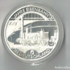 Euros: 10 € EUROS ALEMANIA 2010 - D FERROCARRIL. Lote 89500652