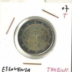 Euros: 2 EUROS 2007 ESLOVENIA TRATADO DE ROMA. Lote 89500908