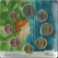 Euros: BLISTER 8 MONEDAS HOLANDA 2015 ALEXANDER. Lote 89501520