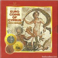 Euros: CHIPRE 2014 CARTERA OFICIAL. Lote 89504368