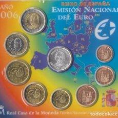 Euros: ESPAÑA 2006 BLISTER 8 MONEDAS MAS MEDALLA COLON. Lote 89513520