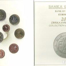 Euros: ESLOVENIA 2015 CARTERA 8 MONEDAS MAS UNA DE 2€ MAS OTRA DE 3 €. Lote 89514700