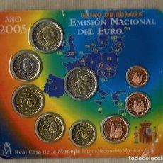 Euros: EMISIÓN NACIONAL DEL EURO AÑO 2005 / FLOR DE CUÑO. Lote 89610700
