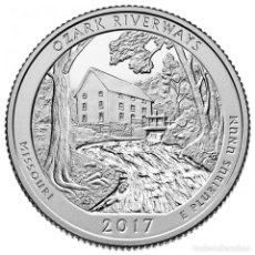 Euros: QUARTER DOLLAR USA 2017 - PARQUES NACIONALES - OZARK NATIONAL SCENIC RIVERWAYS (MISSOURI) - CECA D. Lote 96177856