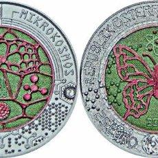 Euros: AUSTRIA 2017. MONEDA DE 25 EUROS DE NIOBIO. MICROCOSMOS.. Lote 90781555