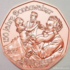 Euros: 5 EUROS -AUSTRIA 2016- NEUJAHR 2017 -EL DANUBIO AZUL - S/C. Lote 92407310