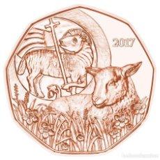 Euros: 5 EUROS -AUSTRIA 2017 -LA PASCUA 2017- EL CORDERO DE PASCUA - S/C. Lote 92409635