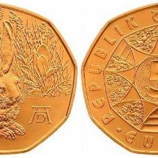 Euros: 5 EUROS -AUSTRIA 2016- LIEBRE DE DURERO - S/C. Lote 92278655