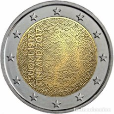 Euros: FINLANDIA 2017. MONEDA DE 2 EUROS DEL CENTENARIO DE LA INDEPENDENCIA DE FINLANDIA. Lote 143528910