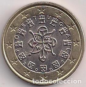 PORTUGAL - 1 EURO 2003 - KM#746 (Numismática - España Modernas y Contemporáneas - Ecus y Euros)