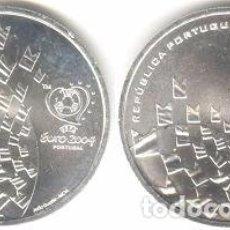 Euros: PORTUGAL - 8 EURO 2003 - KM#750 - S/C - LOS VALORES DEL FÚTBOL - CELEBRACIÓN. Lote 93309470