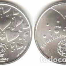 Euros: PORTUGAL - 8 EURO 2003 - KM#751 - S/C - LOS VALORES DEL FÚTBOL - PASIÓN. Lote 93309625
