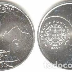 Euros: PORTUGAL - 8 EURO 2004 - KM#756 - LA ESPECTACULARIDAD DEL FÚTBOL - TIRO. Lote 93396340