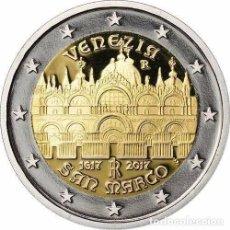 Euros: 2 EUROS CONMEMORATIVA ITALIA 2017 SAN MARCOS VENECIA SC. Lote 194338763