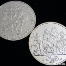 Euros: HOLANDA 1995 - 2 ECU SAIL TEMATICA BARCOS DE NAVEGACION 3- BOATS- VELEROS- BARCO. Lote 203905587