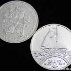 Euros: HOLANDA 1995 - 2 ECU SAIL TEMATICA BARCOS DE NAVEGACION 4- BOATS- VELEROS- BARCO. Lote 203905771