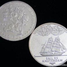 Euros: HOLANDA 1995 - 2 ECU SAIL TEMATICA BARCOS DE NAVEGACION 5- BOATS- VELEROS- BARCO. Lote 203905907