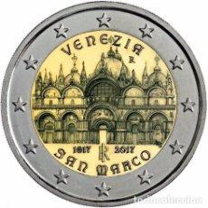 Euros: ITALIA 2017. MONEDA DE 2 EUROS CONMEMORATIVA DE LA CATEDRAL DE SAN MARCOS. Lote 143527918
