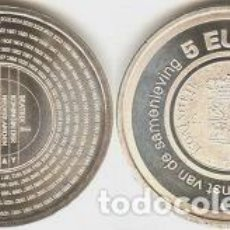 Euros: HOLANDA - 5 EUROS 2006 - KM#267 -200 ANIVERSARIO DE LA AUTORIDAD FINANCIERA BELASTINGDIENST. Lote 94211335