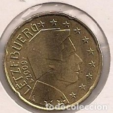 Euros: LUXEMBURGO - 20 CÉNTIMOS 2009 - KM#90 - S/C. Lote 94409226