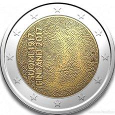 Euros: FINLANDIA 2 EUROS 2017 CENTENARIO INDEPENDENCIA DE FINLANDIA. Lote 96042386