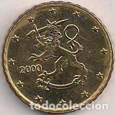 Euros: FINLANDIA - 10 CÉNTIMOS 2000 - KM#101. Lote 94791343
