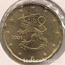 Euros: FINLANDIA - 20 CÉNTIMOS 2001 - KM#102. Lote 94791935