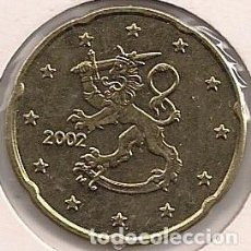 Euros: FINLANDIA - 20 CÉNTIMOS 2002 - KM#102. Lote 94792559