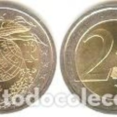 Euros: ITALIA - 2 EUROS 2004 - KM#237 - 50 ANIVERSARIO DEL PROGRAMA MUNDIAL DE ALIMENTOS. Lote 95041927