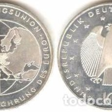 Euros: ALEMANIA - 10 EUROS 2002 D - KM#215 - INTRODUCCIÓN DEL EURO. Lote 95348603