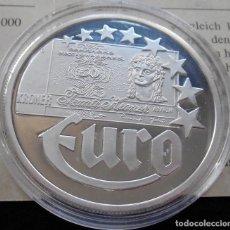 Euros: MONEDA 10 EUROS DINAMARCA 1997 EN PLATA MACIZA DE 999/1000 20 GR CALIDAD PROOF CON CERTIFICADO. Lote 95457643