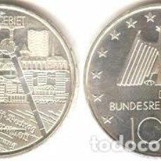 Euros: ALEMANIA - 10 EUROS 2003 F - KM#224 - DISTRITO INDUSTRIAL DE RUHR. Lote 95548235