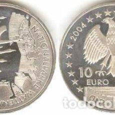 Euros: ALEMANIA - 10 EUROS 2004 J - KM#232 - PARQUE NACIONAL WETTENMEER. Lote 95549131