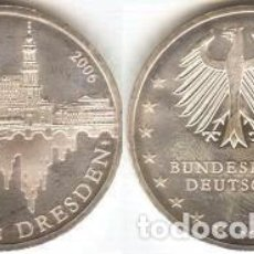 Euros: ALEMANIA - 10 EUROS 2006 A - KM#246 - 800º ANIVERSARIO DE LA CIUDAD DE DRESDE. Lote 95654551