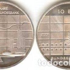 Euros: ALEMANIA - 10 EUROS 2007 J - KM#266 - 50º ANIVERSARIO DEL BANCO FEDERAL ALEMÁN. Lote 95657671