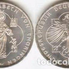 Euros: ALEMANIA - 10 EUROS 2007 A - KM#268 - 800º ANIVERSARIO DEL NACIMIENTO DE ELISABETH VON THÜRINGEN. Lote 95658059