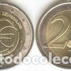 Euros: ALEMANIA - 2 EUROS 2009 J - KM#277 - 10 AÑOS DEL NACIMIENTO DEL EURO S/C. Lote 95744475