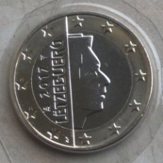Euros: MONEDA 1 EURO LUXEMBURGO 2017 - CALIDAD BU - SACADA DE CARTERA ORIGINAL. Lote 96043659